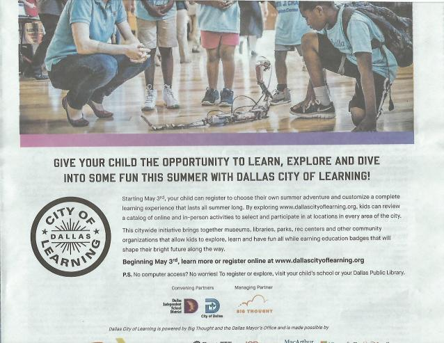 Dallas City of Learning Ad-page-001